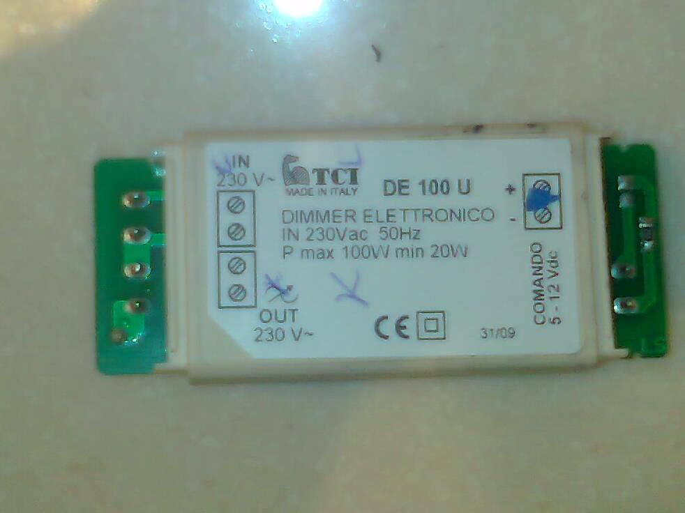 Трансформатор для подсветки на вытяжку