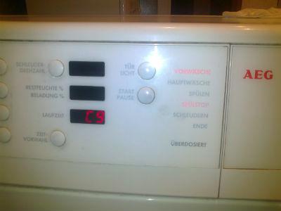 Ремонт стиральной машины AEG srochnoremont.ru
