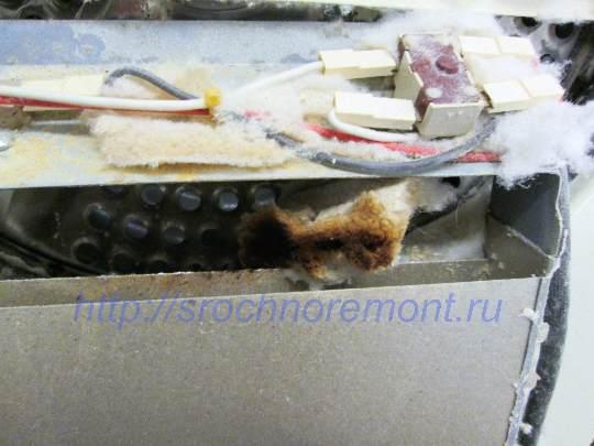 Профилактика сушильной машины важна, есть риск возгорания!