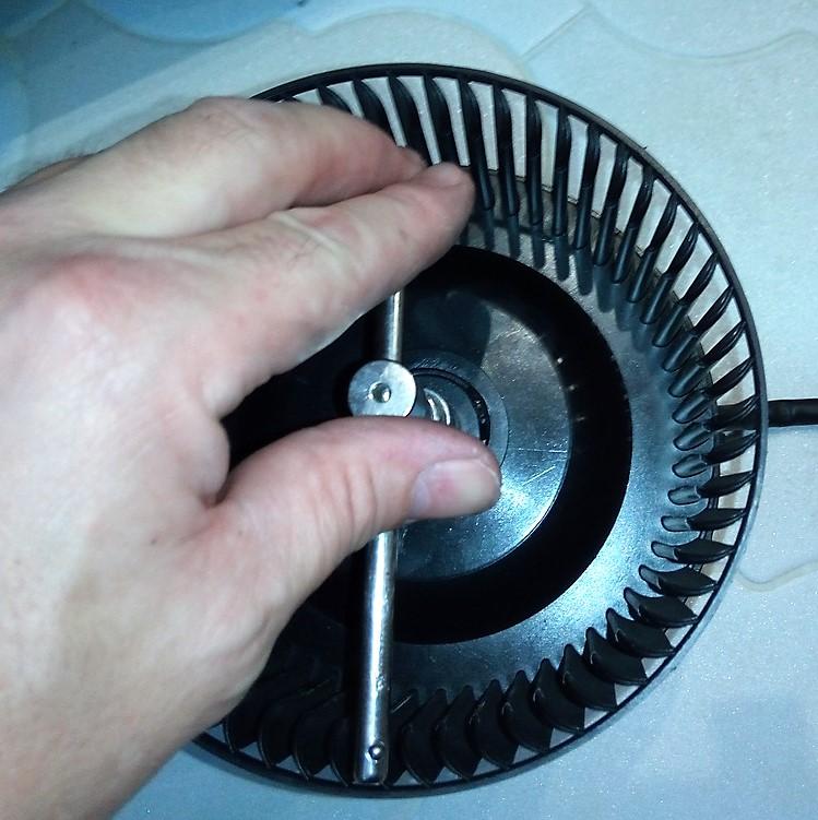 Ремонт мотора кухонной вытяжки