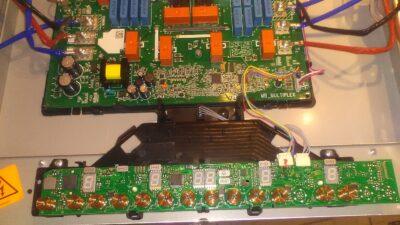 Ремонт инвертора индукционной варочной панели бош