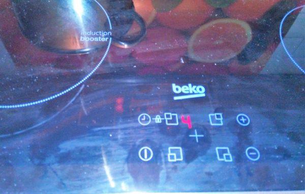 Индукционная варочная панель Beko устранение ошибок