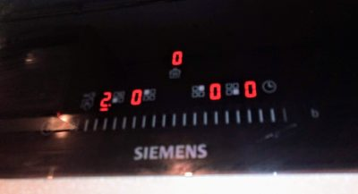 Варочная панель Siemens возникла E 0