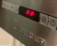 Как убрать ошибку FF на кухонной вытяжке Faber