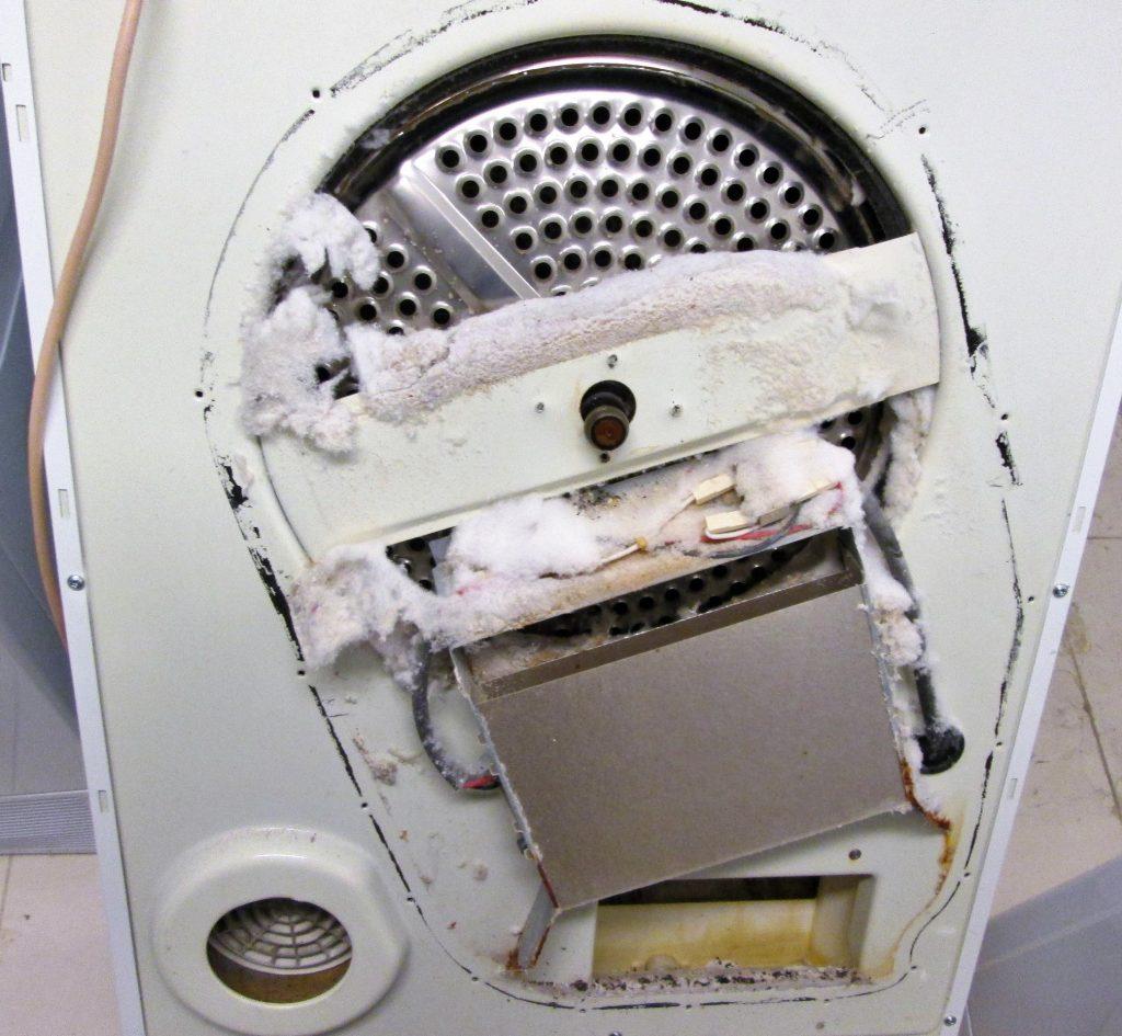 Ремонт сушильной машины Аристон чистка и профилактика