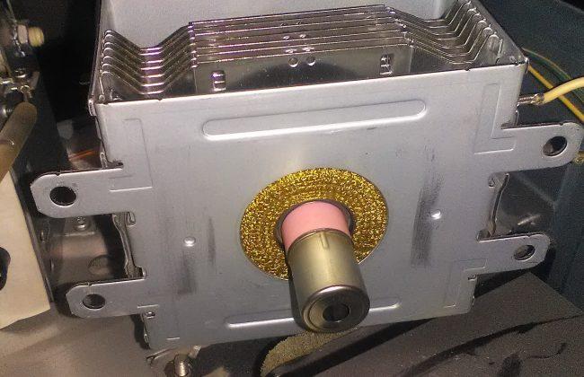магнетрон микроволновой печи плохо греет
