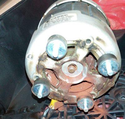 Износ мотора кухонной вытяжки Фабер