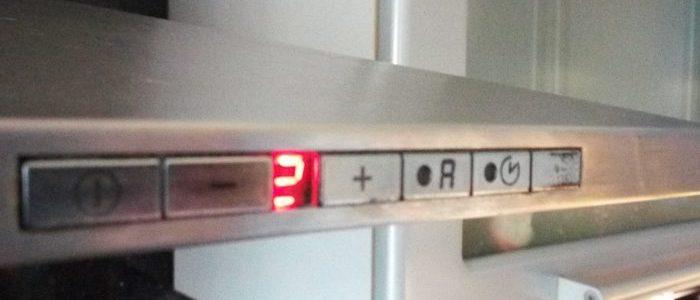 Неисправно освещение кухонной вытяжки Siemens Neff Bosch Gaggenau