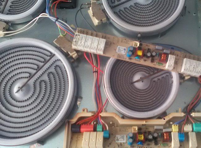 Ремонт варочных панелей Elika с Hi-Light конфорками