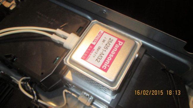 Bosch hbc84k563.06 замена магнетрона