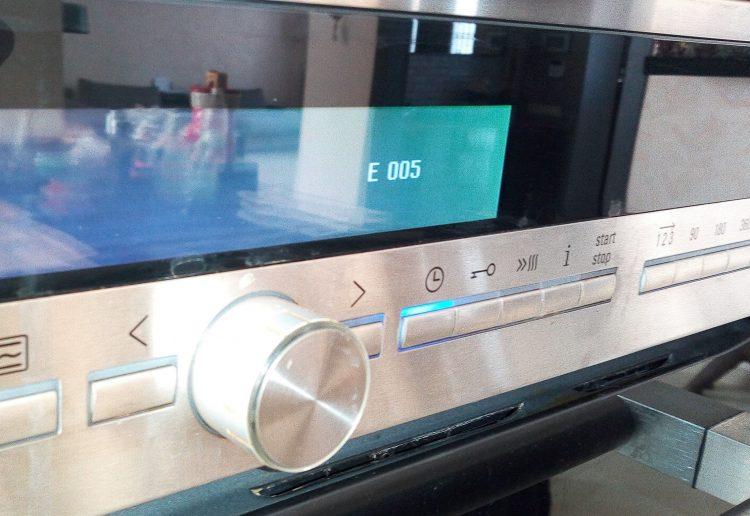 Bosch E005 ремонт и диагностика