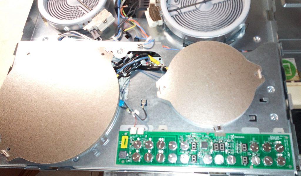 Ремонт индукционных панелей Электролюкс