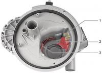 Чистка слива фильтра Bosch Gaggenau