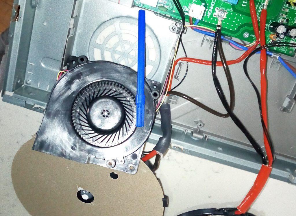 Neff индукционная панель замена вентилятора