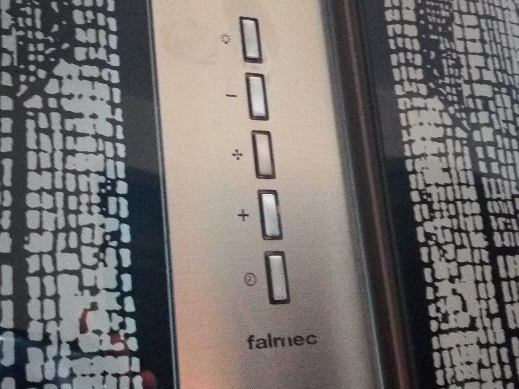 Вытяжка Falmec в процессе ремонта