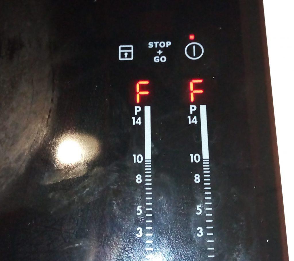 Индукционная панель electrolux ошибка F
